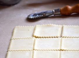 fregnacce, pasta tipica del carnevale di Acquapendente