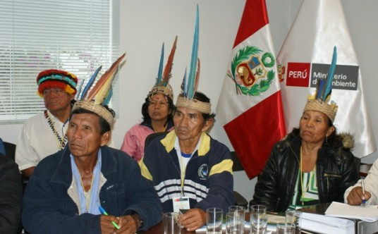 Comunità Achuar si riunisce