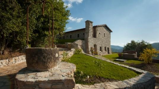Vista dell'Eremito Hotelito del Alma (Orvieto, TR) dall'esterno