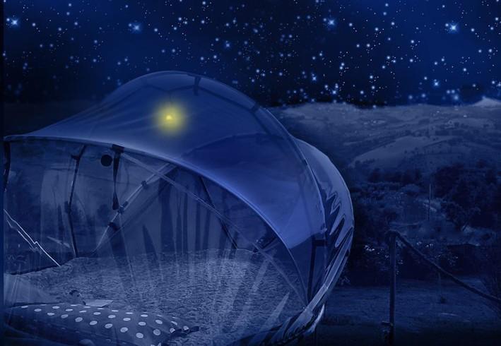 la tenda sotto le stelle nel b&b la casa dei nonni (FM)