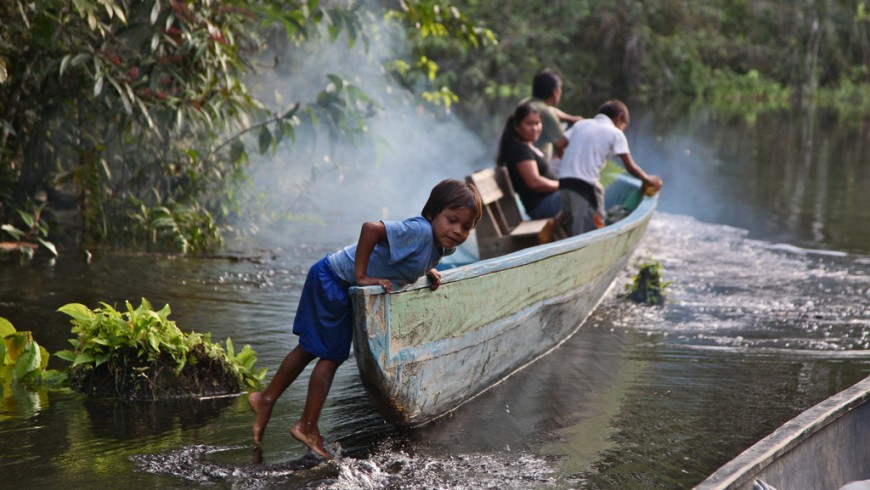 Ecuador, nella riserva del Cuyabeno, Amazzonia