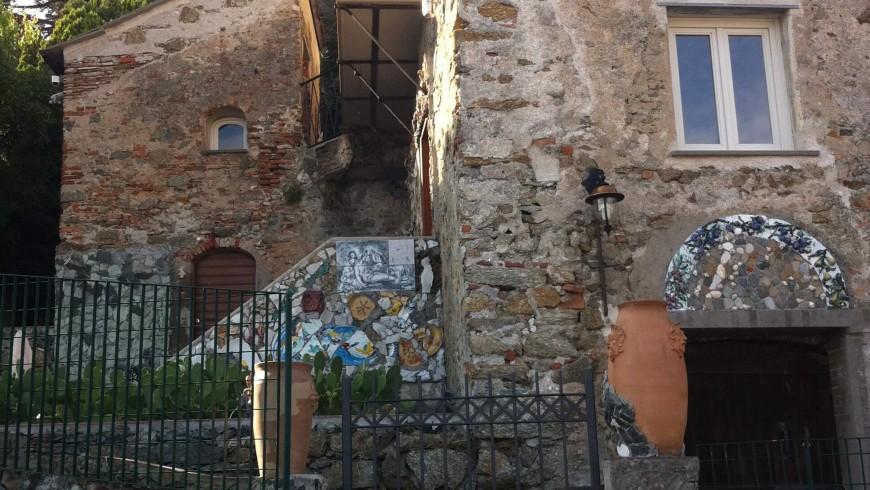villa Jorn dall'esterno (Albisola, SV)