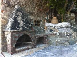 forno a legna di villa Jorn, decorato con un mosaico (Albisola, SV)