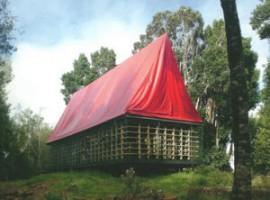 The room dell'architetto Smiljan Radic