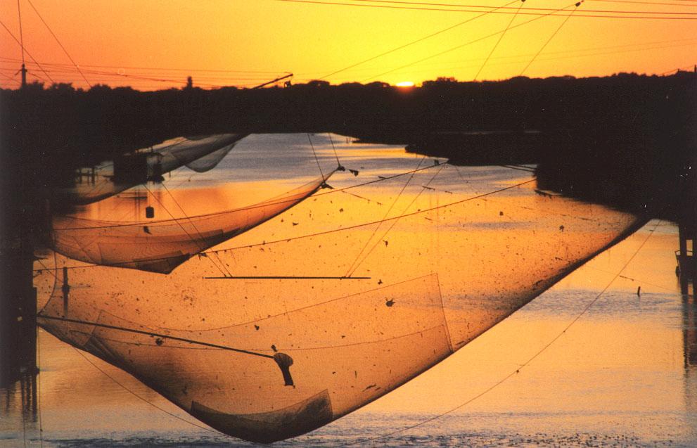 La pialassa di Ravenna, Emilia Romagna, è una delle mete del Festival It.a.cà