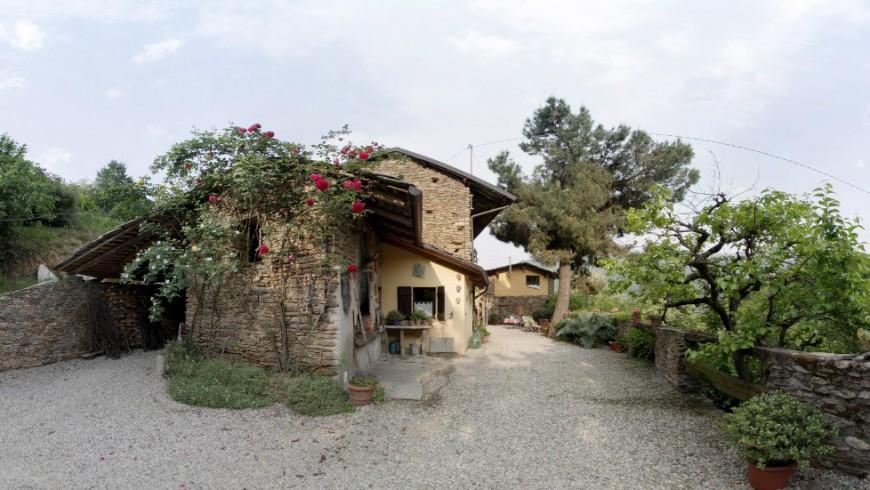 Bosco delle terracotte, un b&b eco-sostenibile a Barge, Cuneo, Piemonte
