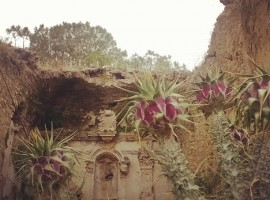 Cummintazzu all'interno dell'area archeologica Rossomanno, Sicilia