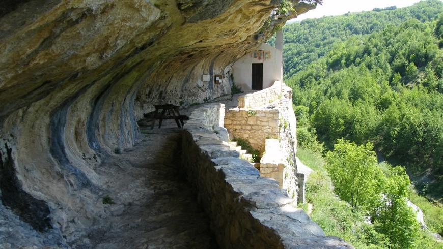 Eremo di san Bartolomeo, Parco Nazionale della Majella, Abruzzo