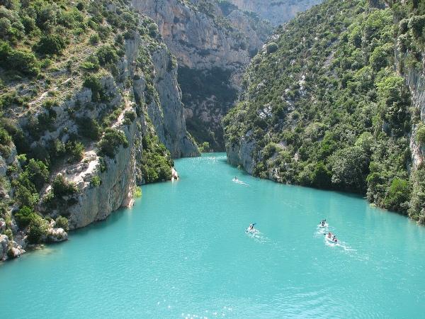 Canoe nel Parco Naturale di Port-Cros
