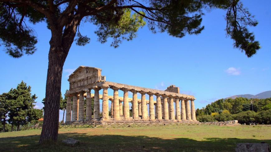 Tempio di Hera, Pestum, Cilento