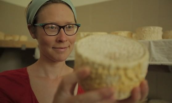 Arianna Marengo e i suoi formaggi
