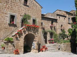 Un'antica casa nel centro di Civita di Bagnoregio, Lazio