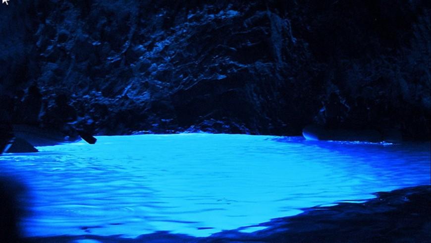 La Grotta Blu, Cilento