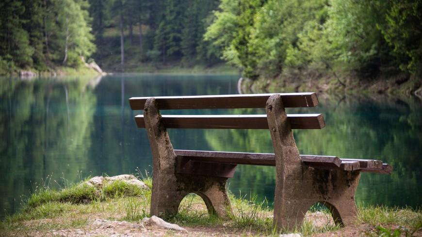 Il parco che diventa lago