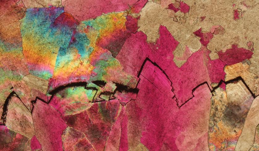 DolomitiArtRock, le Dolomiti viste al microscopio diventano opere d'arte