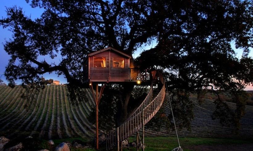 La casa sull'albero de La Piantata, Italia
