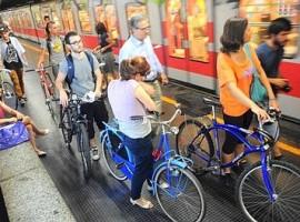 Vivere senza auto: milano per le biciclette