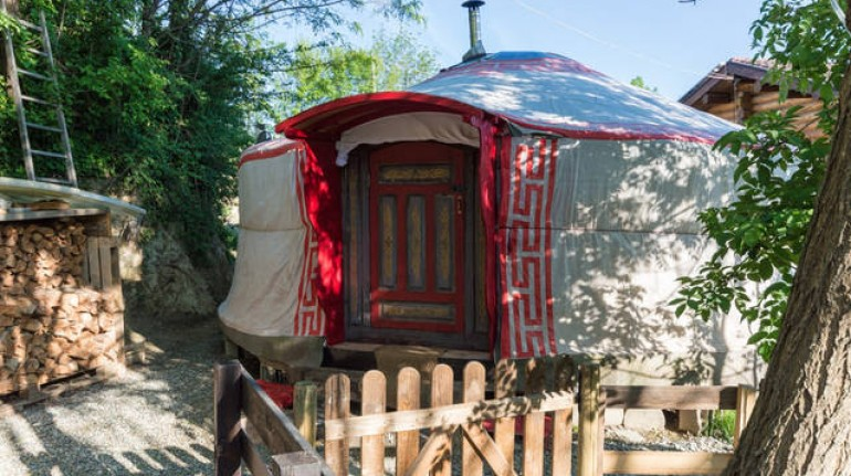 Vivi un'esperienza unica, prova il glamping in questa bellissima Yurta vicino Torino