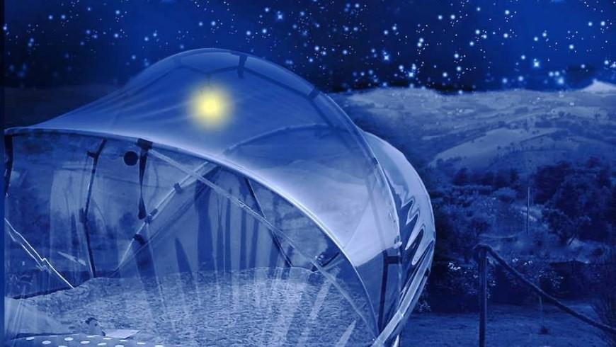 Glamping: Tenda sotto le stelle, Le Marche, Italia