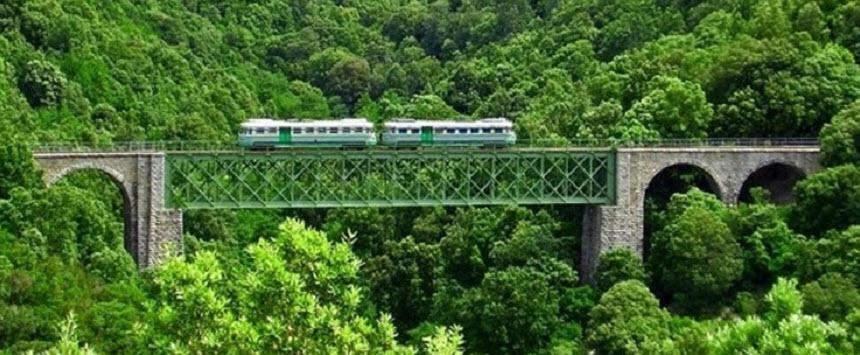 Treno su ponte