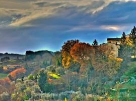 Foliage nei dintorni di Siena