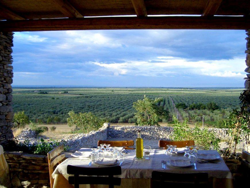 Agriturismo del buon vino in Puglia
