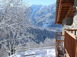 Chalet Sagna Rotonda, Piemonte