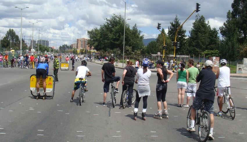 Ciclovia a Bogotà