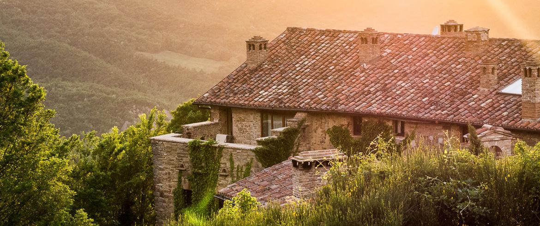 ospitalità verde in Italia: Tribewanted, Monestevole, Toscana
