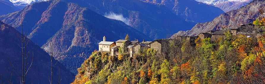 Autunno in Valle Maira, Piemonte