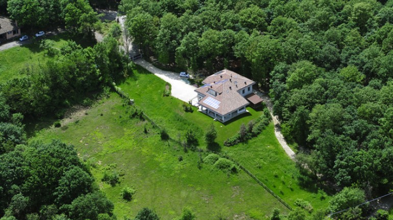 La location del B&B Il Richiamo del Bosco