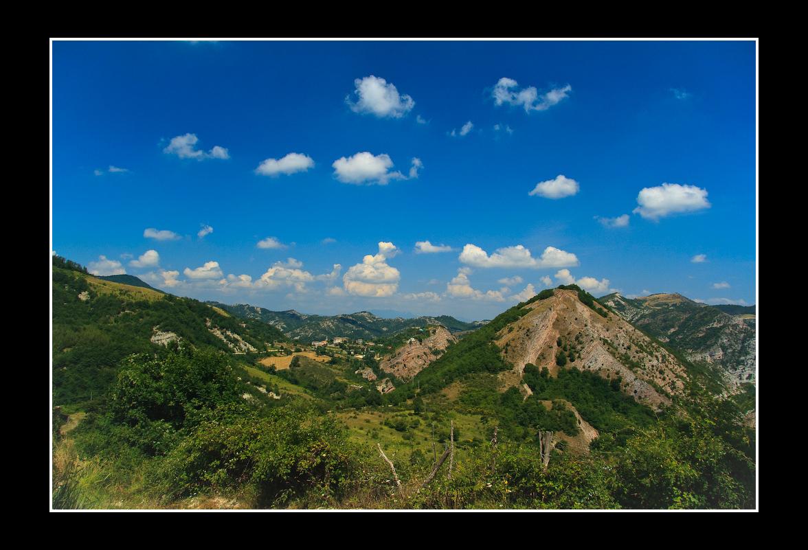 Panorama da Monte Nerone
