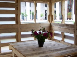 Pallet House: la casa costruita con i pallet