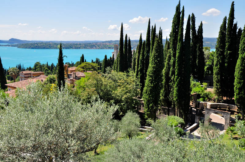 Giardino del Il vittoriale degli italiani, Lombardia