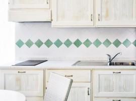 Cucina in legno, Residence Ancora, Acciaroli, Salerno