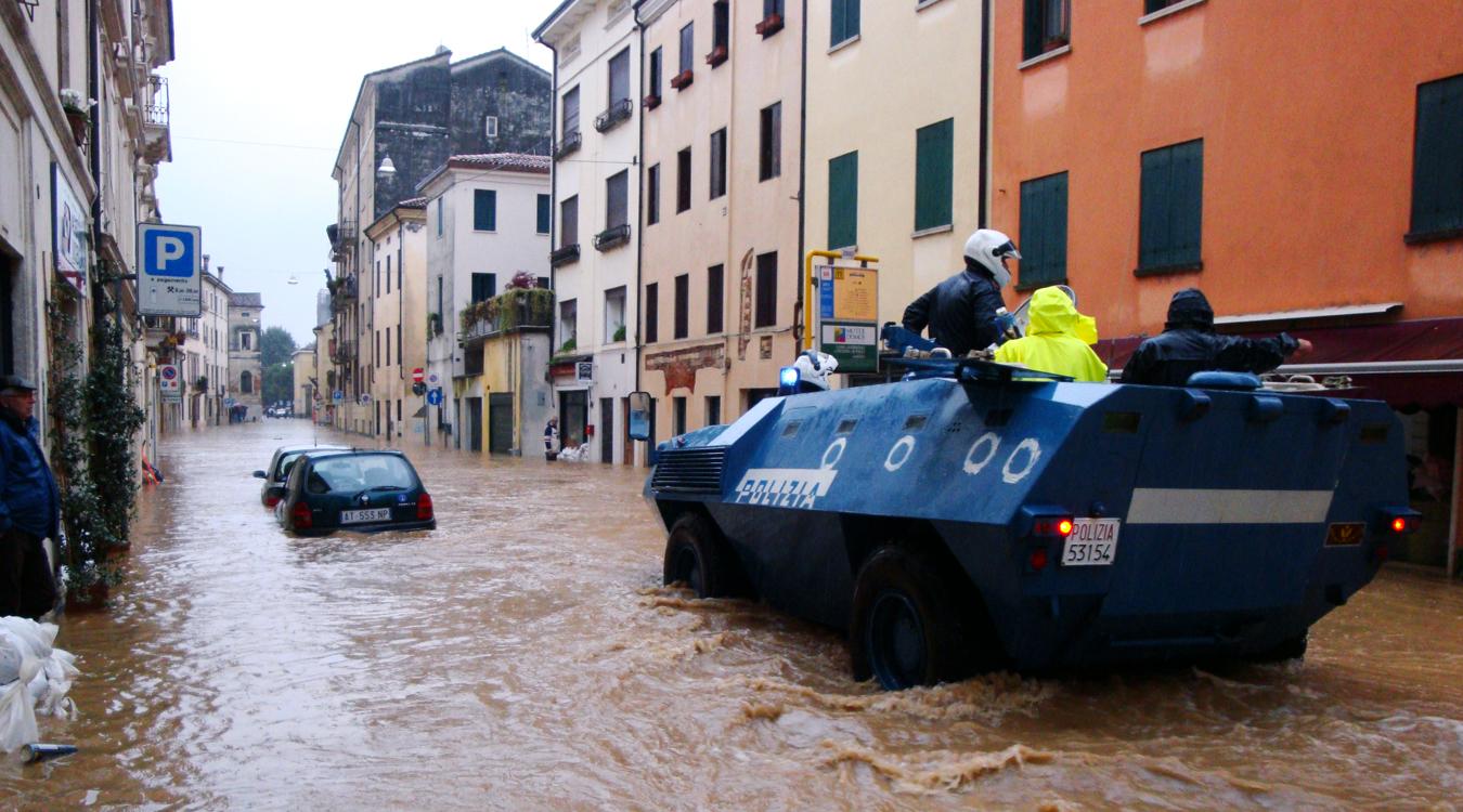 Vicenza, alluvione del 1 novembre 2010