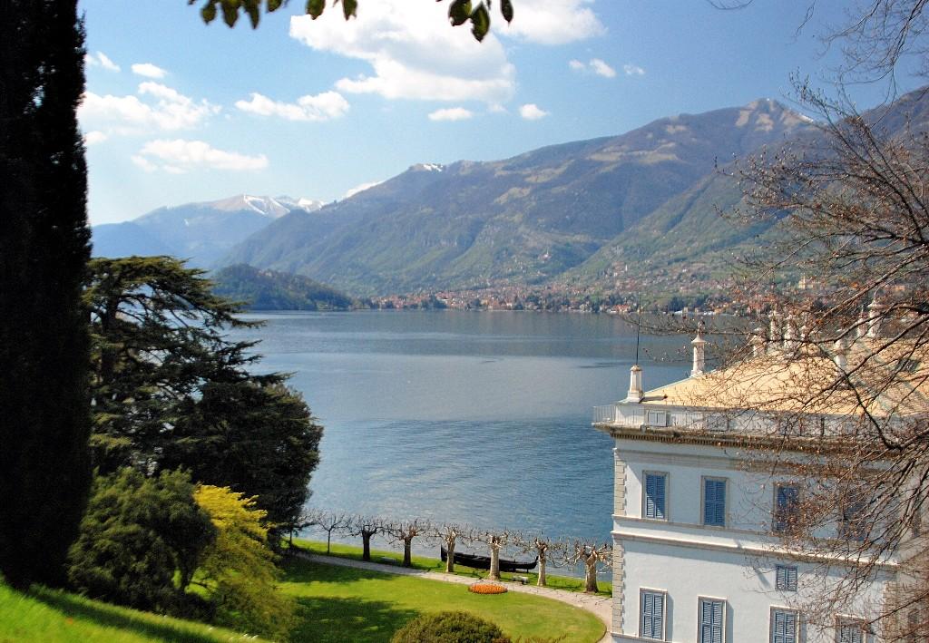 Villa Melzi, Bellagio, con i suoi giardini affacciati sul lago di Como