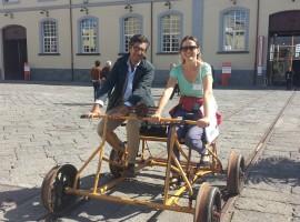 Bicicletta storica al Museo di Pietrarsa, Napoli