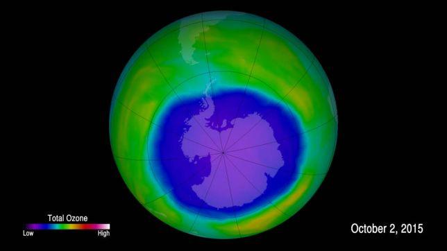 buco dell'ozono, record di estensione