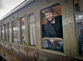 Ministro Franceschini sul Treno Storico di Pietrarsa