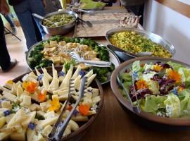 pranzo biologico a Torri Superiori