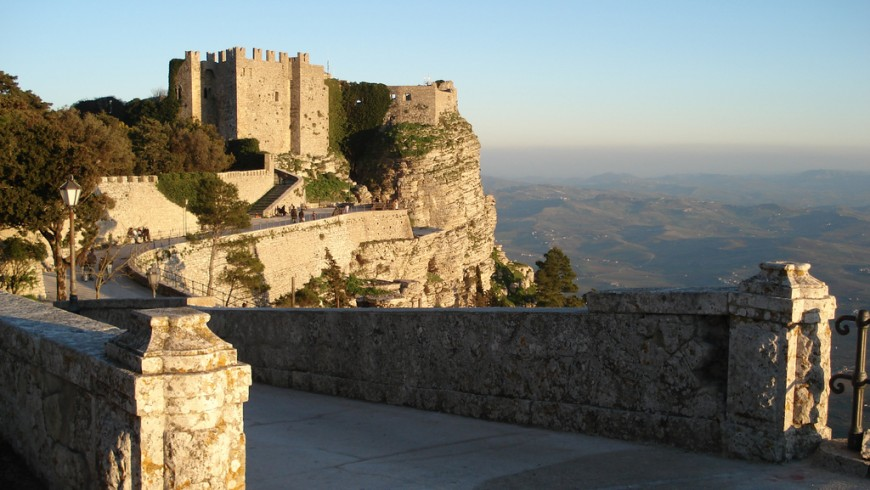 Il castello di Erice