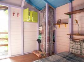 Agriturismo Aperegina: gli interni della casa sull'albero