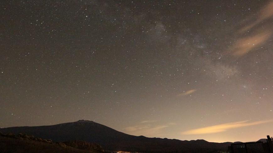Etna di notte