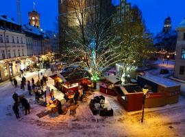 Atmosfera natalizia a Berlino, foto di Fritz