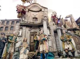 La via dei Presepi a Napoli