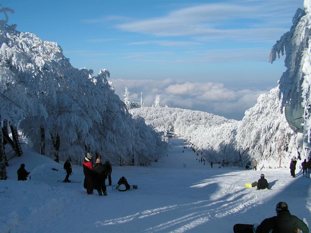 Monte Amiata in inverno