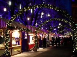 Mercartino di Natale a Potsdamerplatz, Berlino