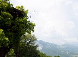 casa sull'albero in abruzzo