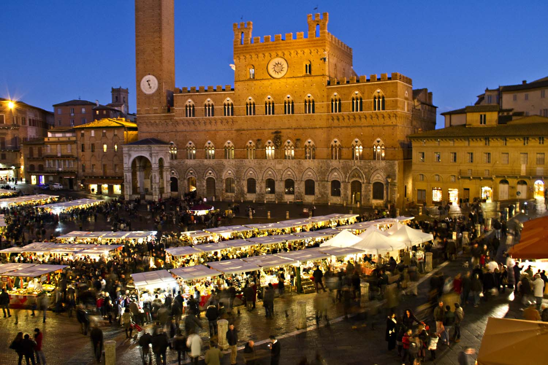 Il Mercatino di Natale di Siena
